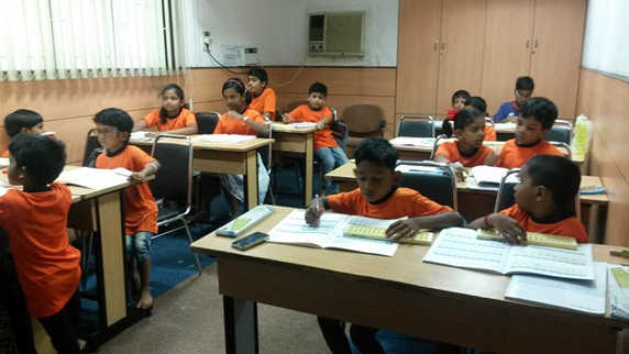 Indian Abacus Class Room 9