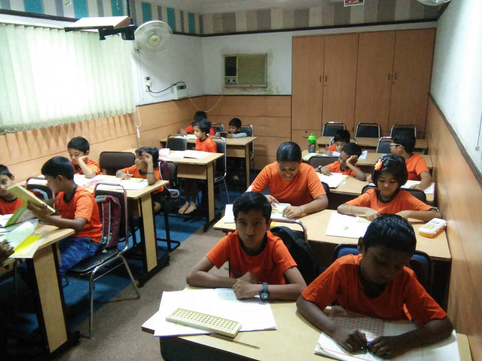 Indian Abacus Class Room 6
