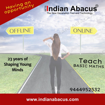 IndianAbacus  business- 23 years of Shaping Young Minds