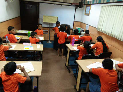 Indian Abacus Class Room 8
