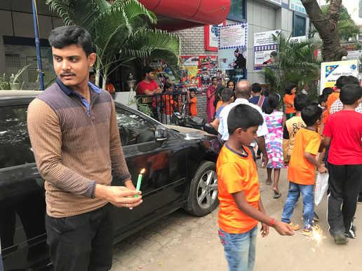 Indian Abacus Diwali 2017 Celebration 10