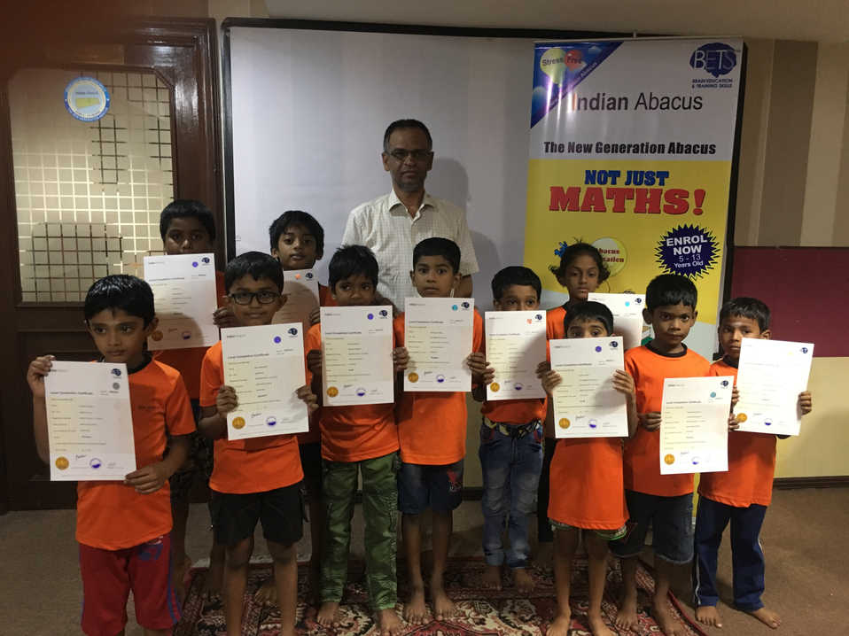 Indian Abacus Certificate Distribution 7