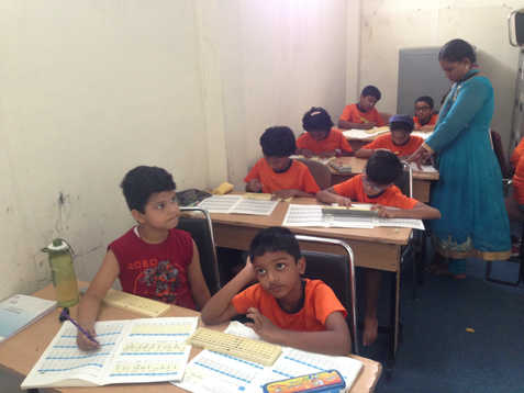 Indian Abacus Class Room 2