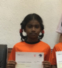 Indian Abacus Student -  thirumagal