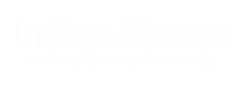 Indian Abacus Logo lite
