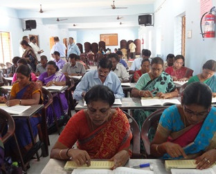 Government Indian Abacus Tutor Training Pilot project in Tamil Nadu