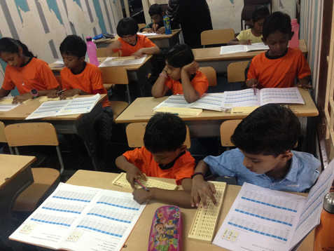 Indian Abacus Class Room 4