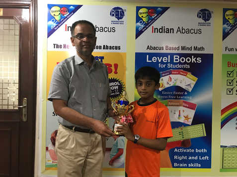 Indian Abacus Certificate Distribution 8