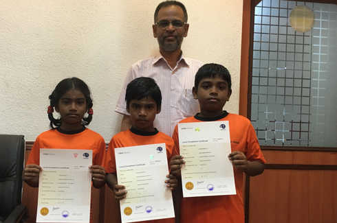 Indian Abacus Certificate Distribution 2