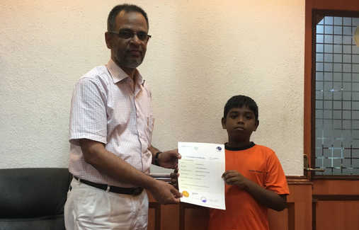 Indian Abacus Certificate Distribution 3