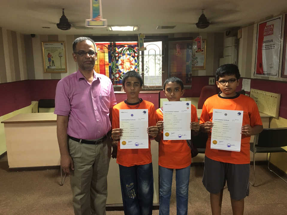 Indian Abacus Certificate Distribution 6
