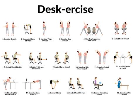 Let's Desk-ercise!