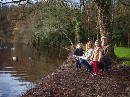 Family Walk, Hazelwood Forest Park, Sligo
