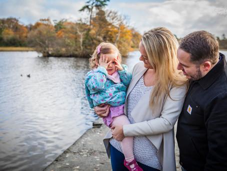 Family Photoshoot, Doorly Park, Sligo