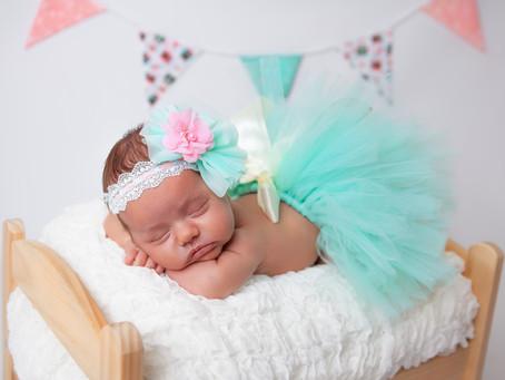 Vanessa's Newborn Photo Session
