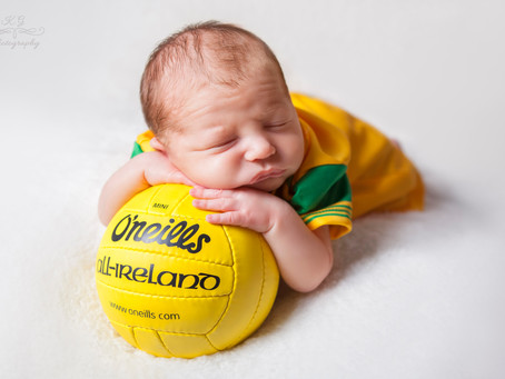 Little Seamus - Newborn Photo Session