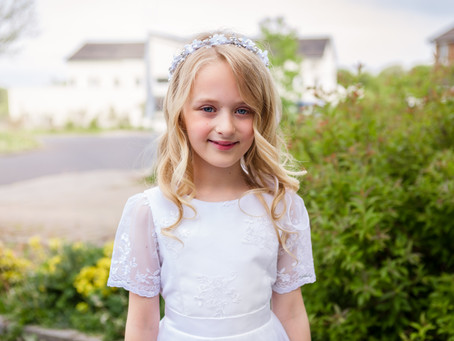 Emily's First Holy Communion