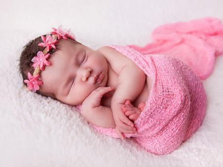 Freya's Newborn Photoshoot
