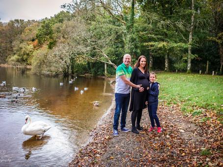 Pregnancy/ Family Photoshoot, Hazelwood Forest Park, Sligo