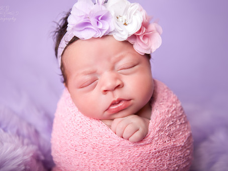 Eliana's Newborn Photoshoot