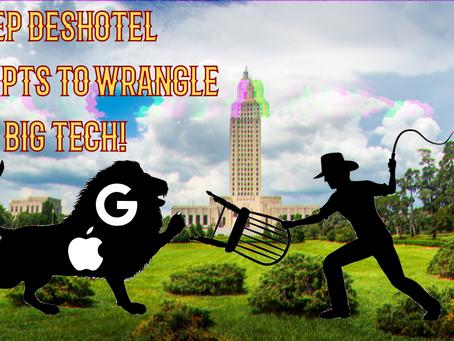 Rep. Deshotel Attempts To Wrangle BIG TECH GIANTS!