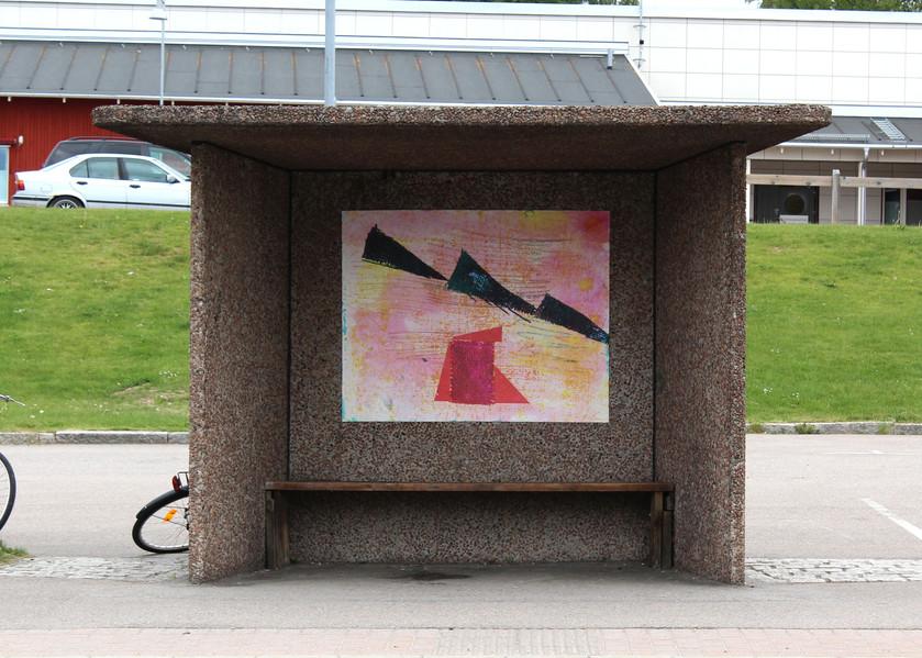 ~ picking up, picking (stationsgaten). poster series. 2016. 120 x 150 cm