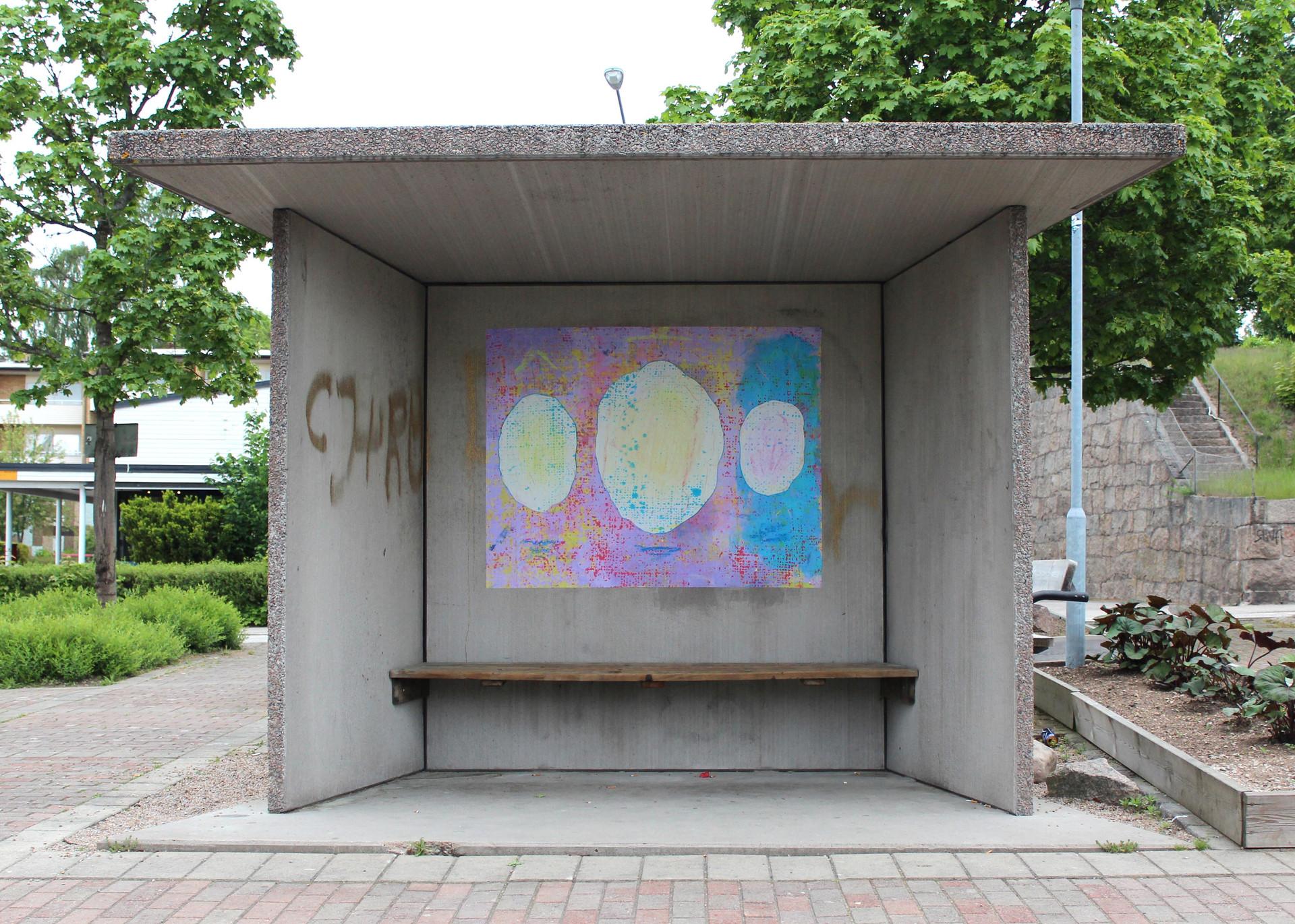 ~ 3 sounds (hovmantorp). 2016. poster series. 120 x 150 cm