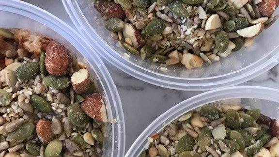 Seedy nutty silky oats