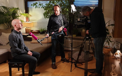 Benjamin Seegers - Als Life Coach im TV-Interview