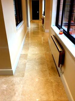 Marble Tiled Hallway
