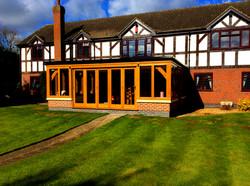 Oak Orangery External Complete
