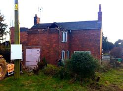 Beginning Demolition
