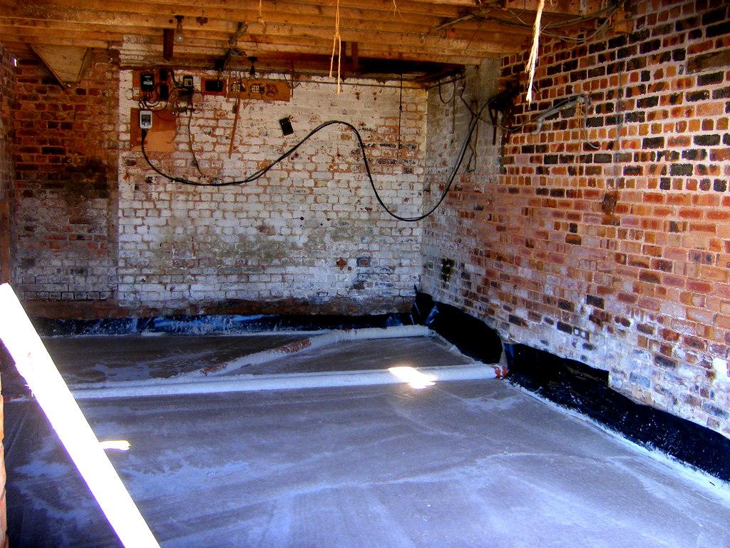 Kitchen Concrete Slab