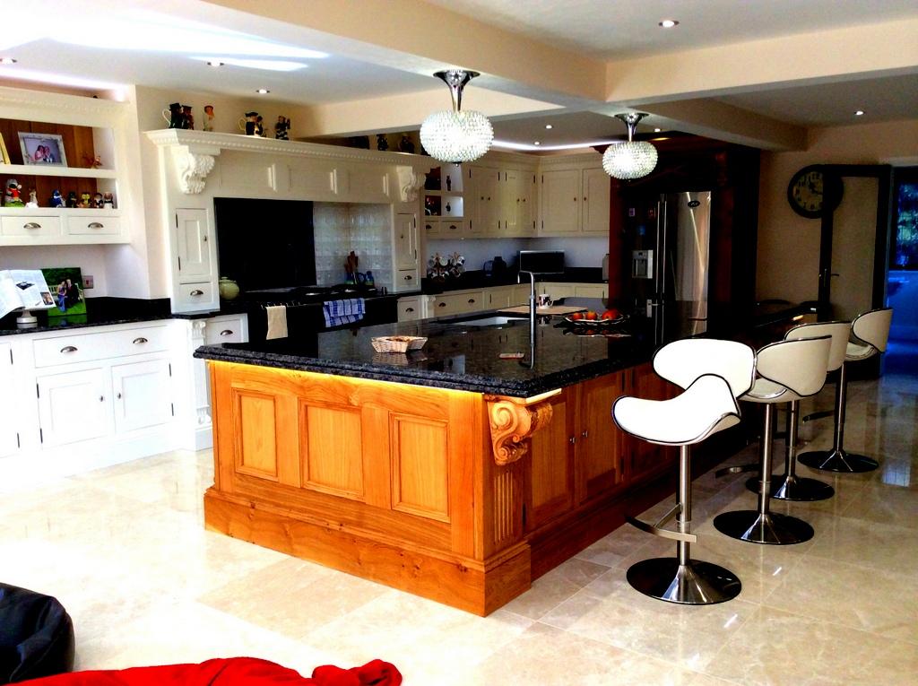 Bespoke Oak Kitchen Complete