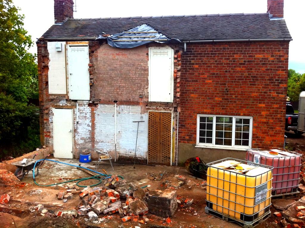 Demolition Complete