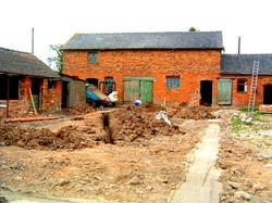 Rear Aspect Barn Conversion Before
