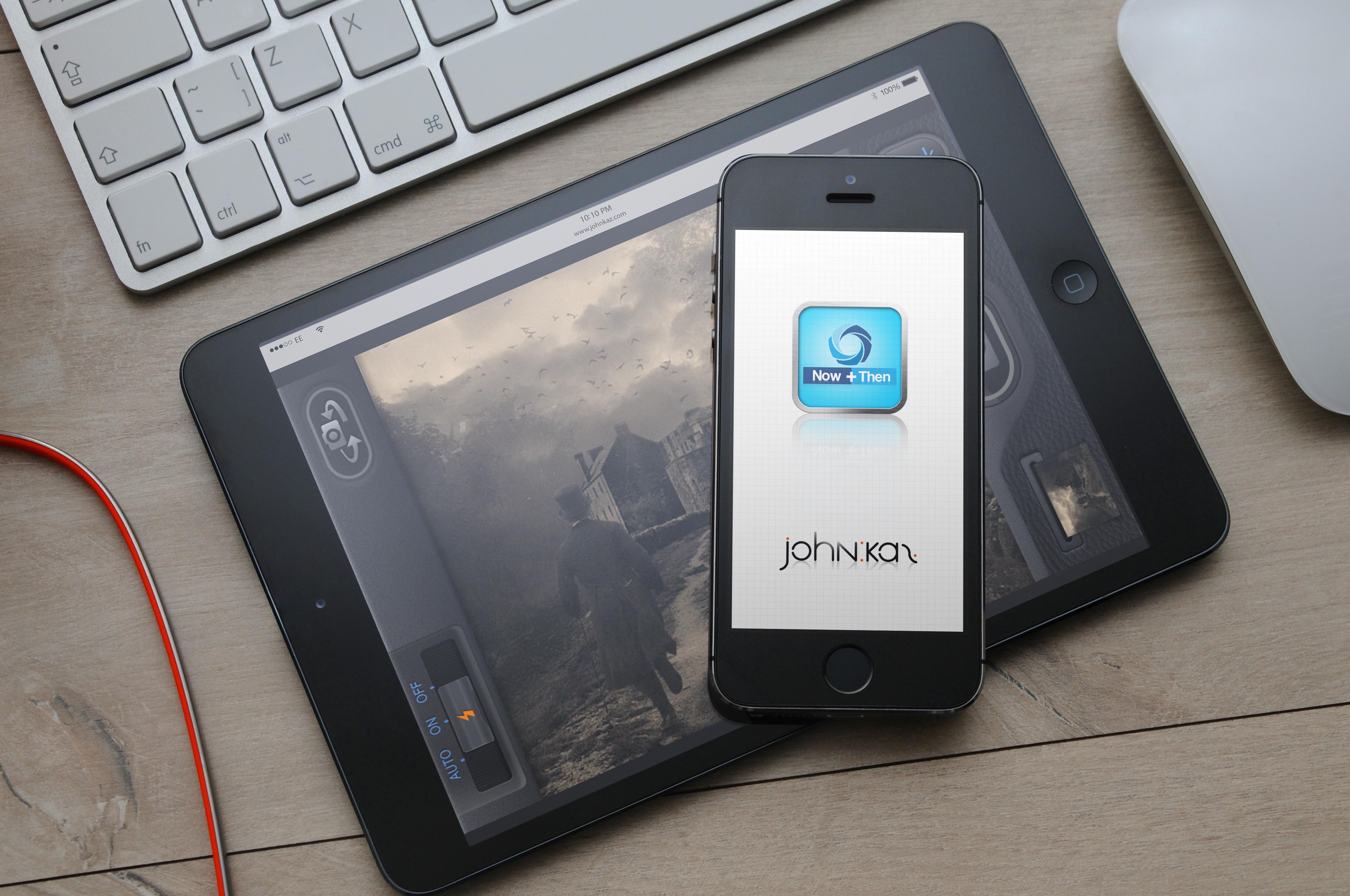 Now+Then App