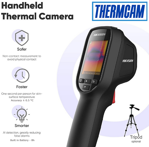 Hikvision DS-2TP31B-3AUF Handheld Temperature Screening Thermal Camera