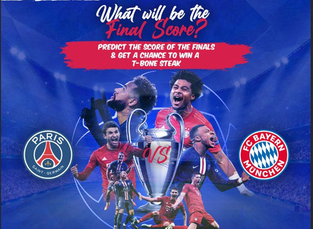 Who do you think will win the UEFA Champions League tomorrow night? What will be the score? Predict