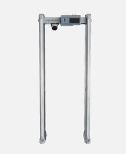 Walk-Through Metal & Temperature Measurement Detector