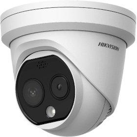 3.1mm Turret Temperature Screening Camera DS-2TD1217B-3/PA