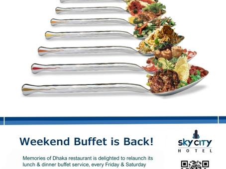 Buffet is Back!