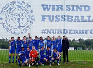U15 und U16 des Buchholzer FC feiern Aufstiege in die Landesliga