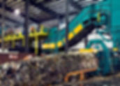 High output baler for MSW municipal solid waste and wet waste 2