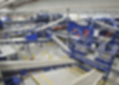Ballistic separator sorting plant 1