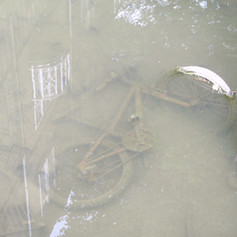 Bicycle in the canal