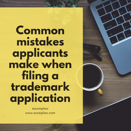 Filing your own trademark application?