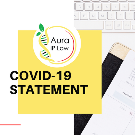Aura IP Law COVID-19 Statement