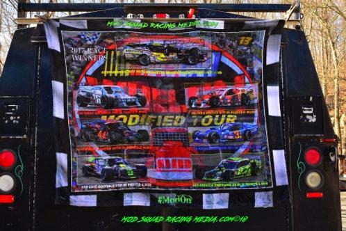 2017 Whelen Modified Tour Winners Fleece Throw Blanket