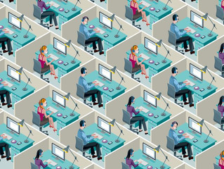 How the universally hated cubicle came to be